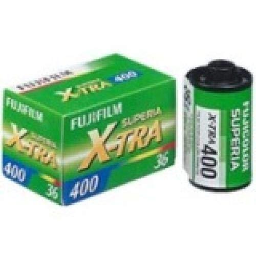 Fujifilm Superia X-TRA 400 Color Negative Film 35mm Color Film 36 Exposures, 3 Pack