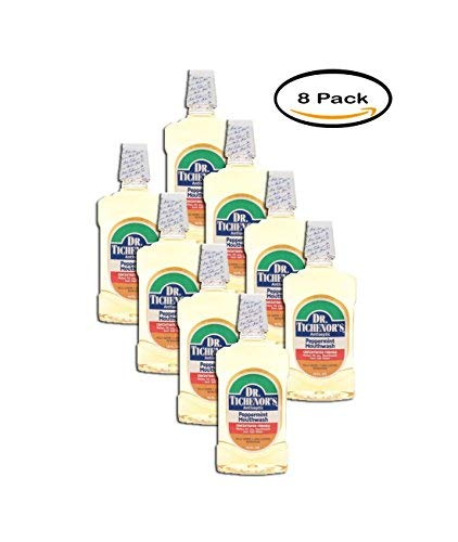 - PACK OF 8 - Dr. Tichenor's Antiseptic Mouthwash, Peppermint, 16 Fl Oz