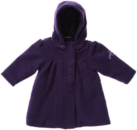 北欧デンマークの子供服ブランド claire.dk プレミアム ウインター コート パープル for Toddler 80cm