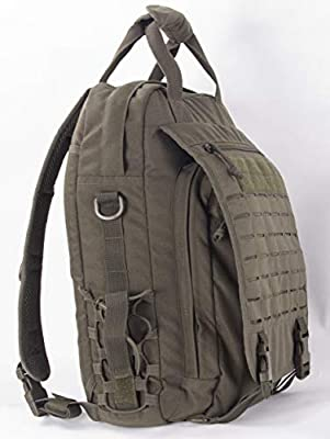 Xmilpax Military Laptop Backpack Army Messenger Bag Tactical Sling Day Pack MOLLE Compatible as Outdoors and Urban Every Day Carry Bag(EDC) College School Backpack