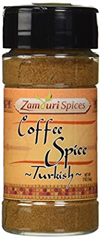 Turkish Coffee Spice Mix 2.0 Oz - Zamouri Spices - Nutmeg Spice