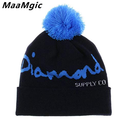 9148589e51c71 ... Winter hat Knit Women Men Winter Hats for Men Knitted hat Men Beanie  Girl Boy Knit Hats Skullies Beanies Wholesale  Amazon.in  Clothing    Accessories