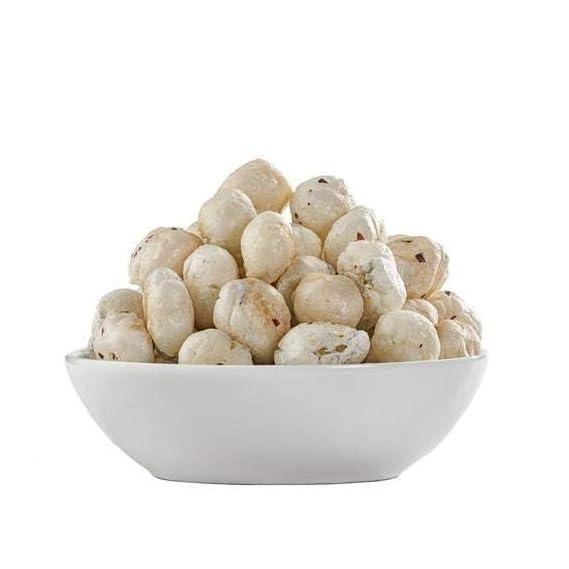 Berries And Nuts Jumbo Fox Nut | Phool Makhana, Ful Makhana | 4 Pack of 200 Grams | 800 Grams