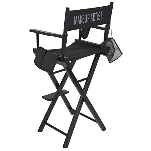 New! Makeup Artist Director's Chair! Light weight flexible & Foldable Professional Designed 022 (Stools Sale Bar Target)