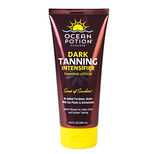 Ocean Potion Dark Tanning Intensifier Lotion, 6.8 Ounce