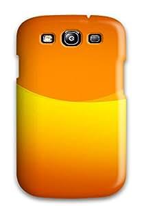 Elliot D. Stewart's Shop Best 1764453K42151798 Sanp On Case Cover Protector For Galaxy S3 (orange)