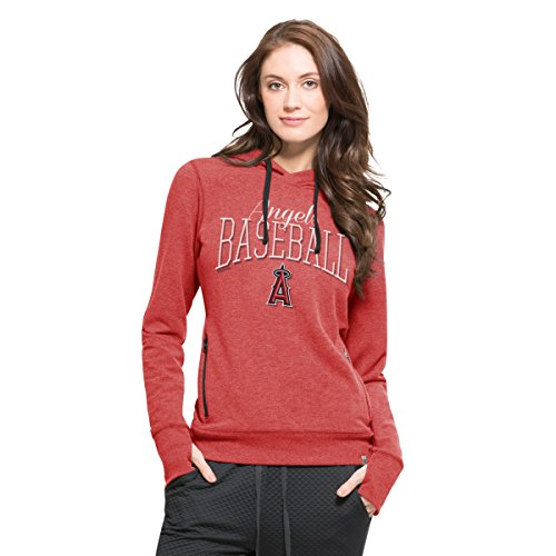 MLB Los Angeles Angels Women's Stride Hood, Medium, Shift Red