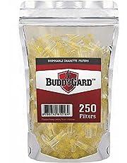 BuddyGard 8 mm engångs-cigarettfilter (250 Ct.)