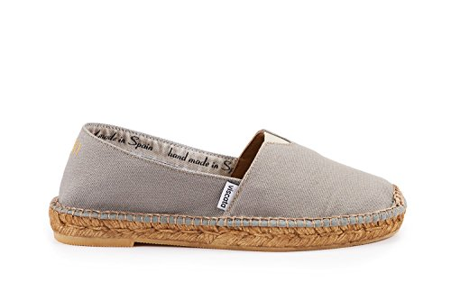 Viscata Womens Barceloneta Autentico E Originale Spagnolo Fatto Espadrillas Appartamenti Frassino