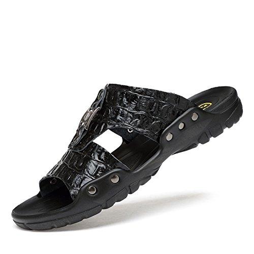 Xing Lin Sandalias De Hombre Zapatillas De Gran Tamaño 50 Hombres De Verano Al Aire Libre, Además De Fertilizante 47 Flip Flops Zapatillas Blancas 48 45 49 Inicio Xl 46 black