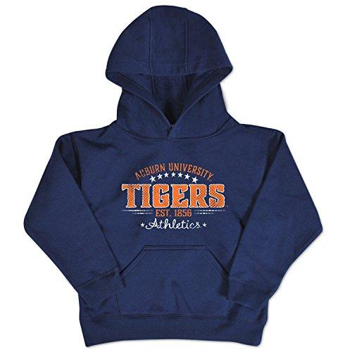NCAA Auburn Tigers Toddler Pullover Hood, 4 Toddler, Navy