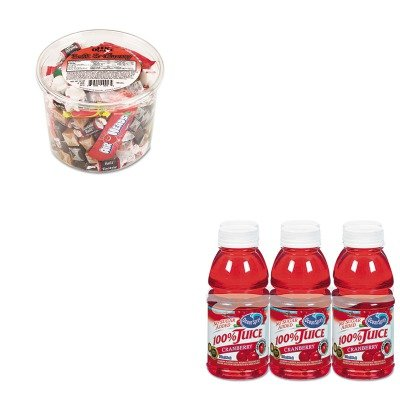kitocs00066ofx00013-value-kit-ocean-spray-100-juice-ocs00066-and-office-snax-soft-ampamp-chewy-mix-o