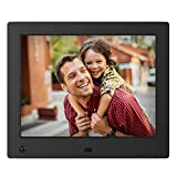 NIX Advance Digital Photo Frame 8 inch X08E. Electronic Photo Frame USB SD/SDHC. Digital Picture Frame with Motion Sensor. Remote Control Included