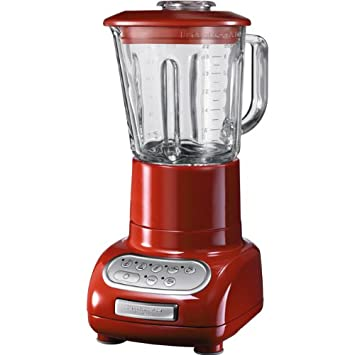 Amazon.de: Kitchenaid 5KSB5553EER Artisan-Blender/Standermixer, rot