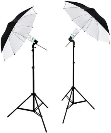 and Video Shoot Portrait AGG1740 LimoStudio 2 Photography Studio Continuous Lighting Kits W// 2 Complimentary Daylight CFL Lights and Umbrellas for Product