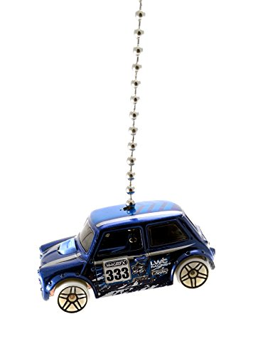 Hot Wheels Mini Ceiling Fan Light Pull Ornaments 1/64 (Mini Blue)