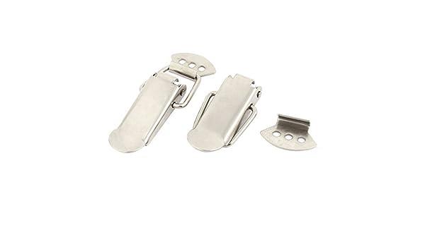 Amazon.com: eDealMax Maletas Cajas de cajas de Acero inoxidable muelle de tracción Toggle Latch 2pcs: Home & Kitchen