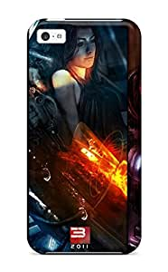 David R. Boulay's Shop New Style Snap-on Mass Effect Case Cover Skin Compatible With Iphone 5c 4175365K25934798