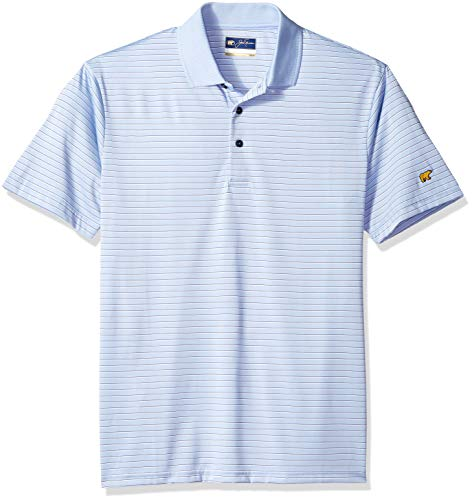Jack Nicklaus Men's Horizontal Striped Short Sleeve for sale  Delivered anywhere in USA