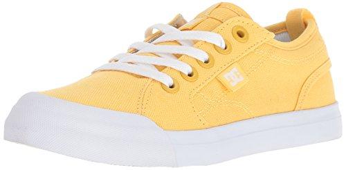 DC Youth Evan TX Skate Shoe (Little Big Kid), Yellow, 6.5 M M US