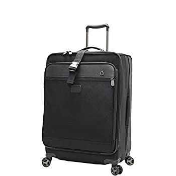 Image of Andiamo Avanti Collection 24 Inch Expandable Spinner, Midnight Black, One Size Luggage