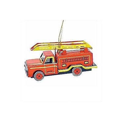 Alexander Taron AT3 Collectible Tin Ornament-Fire Truck-1.5