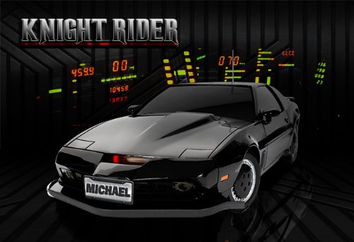 low priced 13bfb 5eb88 Poster KNIGHT RIDER Awesome Collectors Personalized 13x19 With Your Name!