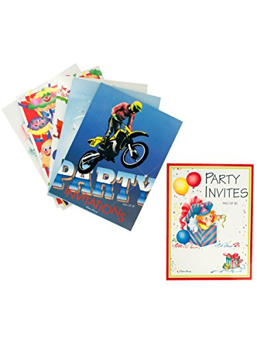 party invitations pad of 30, Case of 72