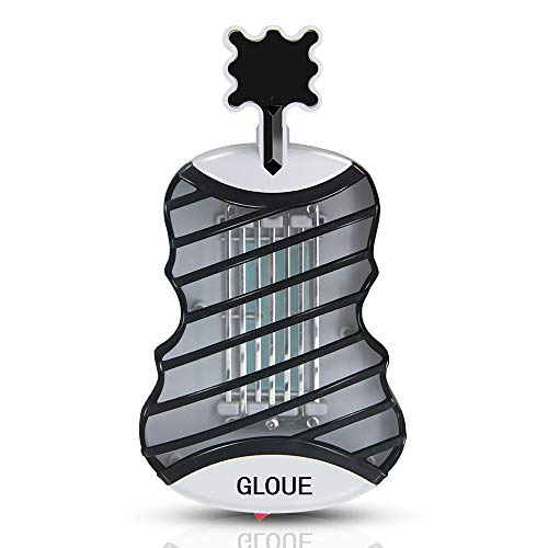 GLOUE Bug Zapper Electronic Mosquito Zapper With UV Light Electronic Insect Killer Indoor Mosquito Trap Fly Insect Killer for Home