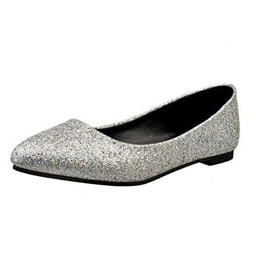 Puntiagudos zapatos moda ocio señora/Plano/Zapatos de las mujeres planas de Corea C