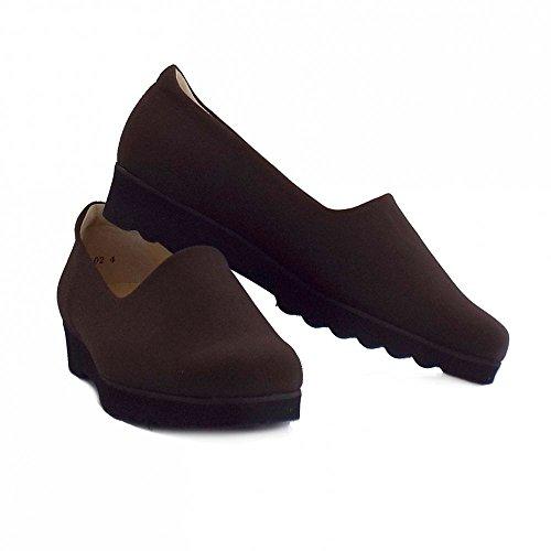 Peter Kaiser Ronda Ladies Comfortable Stretch Shoe in Nuba Brown NUBA Mmmk6