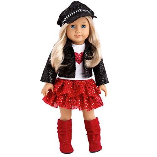 "Heart Throb T-Shirt 18/"" Doll Clothes Fits American Girl Boy Dolls"