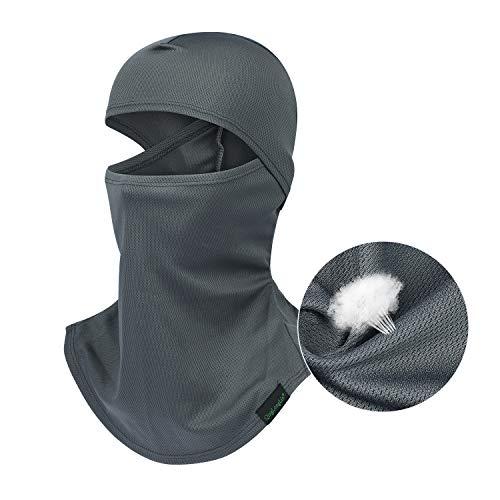 - Balaclava Full Face Mask Motorcycle Helmet Liner Breathable Multipurpose Outdoor Sports Wind Proof Dust Head Hood