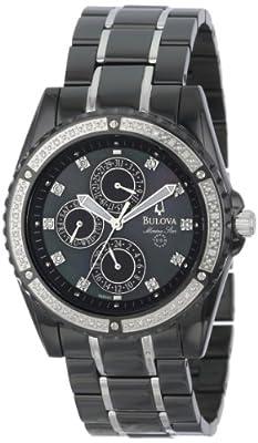 Bulova Men's 98E003 Marine Star Diamond Accented Watch by Bulova
