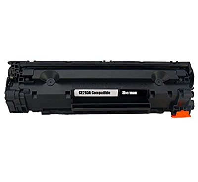Sherman Toner Cartridges ® CE285A (85A) Compatible Black Laser Toner Cartridge for HP Laserjet Pro P1102W, M1130, M1210,