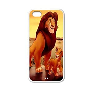 MMZ DIY PHONE CASECustom Lion Back Cover Case for iphone 5c JN5C-128