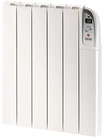 Delonghi HTX0607P - Emisor térmico, 750 W, 6 elementos, digital, AA,