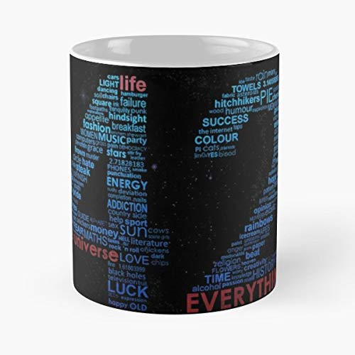 (Hitchhikers Guide To The Galaxy 42 Forty Two - Funny Gifts For Men And Women Gift Coffee Mug Tea Cup White 11 Oz.the Best Holidays.)
