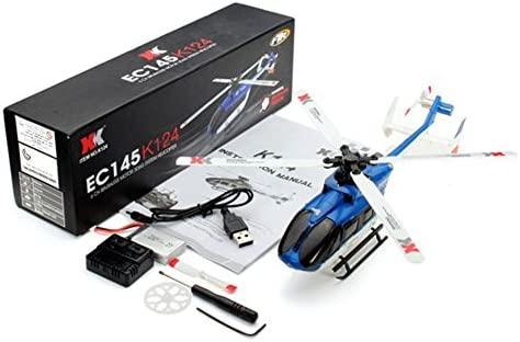 FairOnly XK K124 RC Drone BNF - Helicóptero teledirigido (sin ...