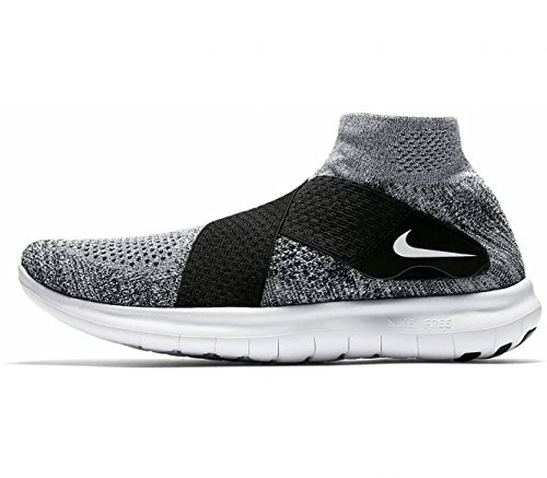 NIKE Mens Free RN Motion Flyknit 2017 Running Shoe (Sz. 11.5) Pure Platinum, - Shoes Men Kobe Basketball