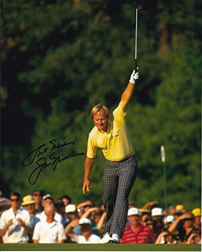 96564eccbd6 JACK NICKLAUS signed autographed PGA GOLF photo