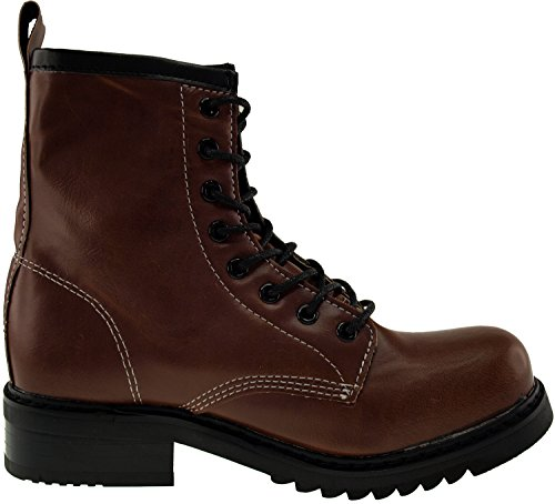 Shoes Middle 303 Brown Maxstar Boots Walker 6qEwI4I