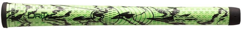 Winn Dri-Tac X Performance Soft Golf Grips (Green Black, Standard)