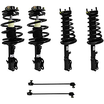 Set of 4 1992-1994 Toyota Camry Quick Complete Struts Shocks /& Coil Springs w// Mounts