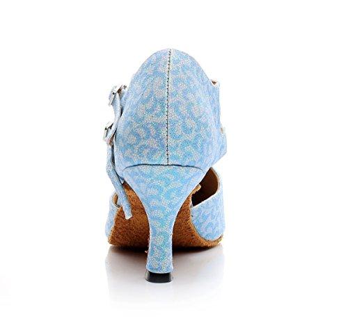 Minitoo - salón mujer Light Blue-7.5cm Heel