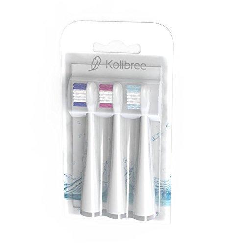 Kolibree Replacement Toothbrush Heads for Kolibree Smart Toothbrush, 3-Pack
