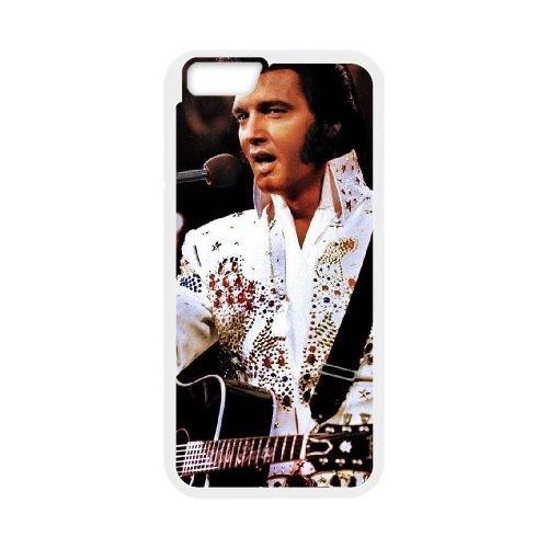 Elvis Presley 003 coque iPhone 6 Plus 5.5 Inch Housse Blanc téléphone portable couverture de cas coque EOKXLLNCD16820