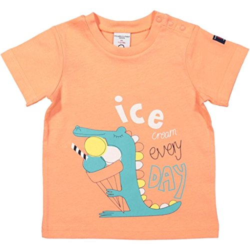Polarn O. Pyret Beach Pal Eco T (Baby) - 9-12 Months/Fusion Coral (Coral Pals)