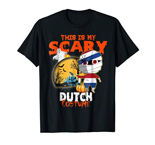 This Is My Scary Dutch Costume Halloween T-Shirt