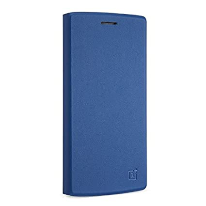 big sale a3655 06e01 OnePlus One Flip Cover Blue- Original by OnePlus: Amazon.ca: Cell ...